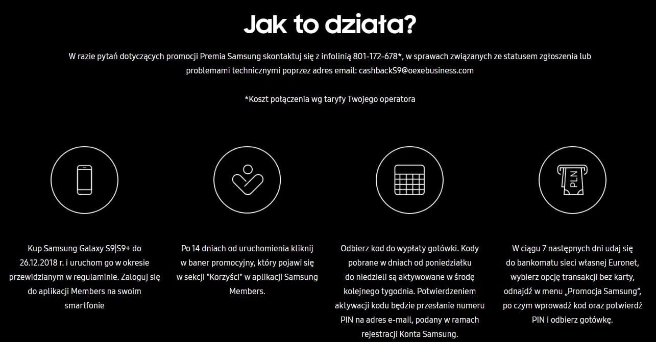 Tabletowo.pl To może być dobry moment na zakup Galaxy S9 i Galaxy S9+, bo można odzyskać nawet 750 złotych w gotówce Android Promocje Samsung Smartfony