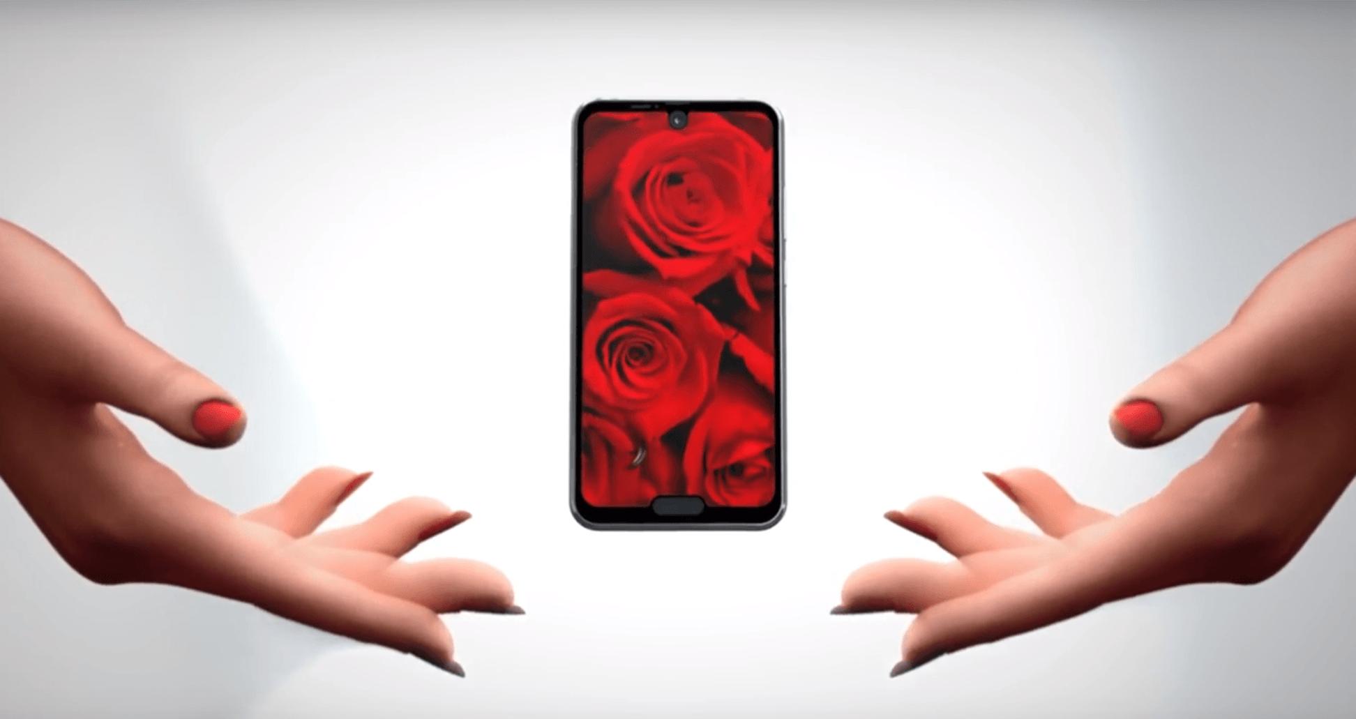 O jeden notch za daleko. Sharp prezentuje smartfon Aquos R2 Compact z dwoma wycięciami w ekranie 24