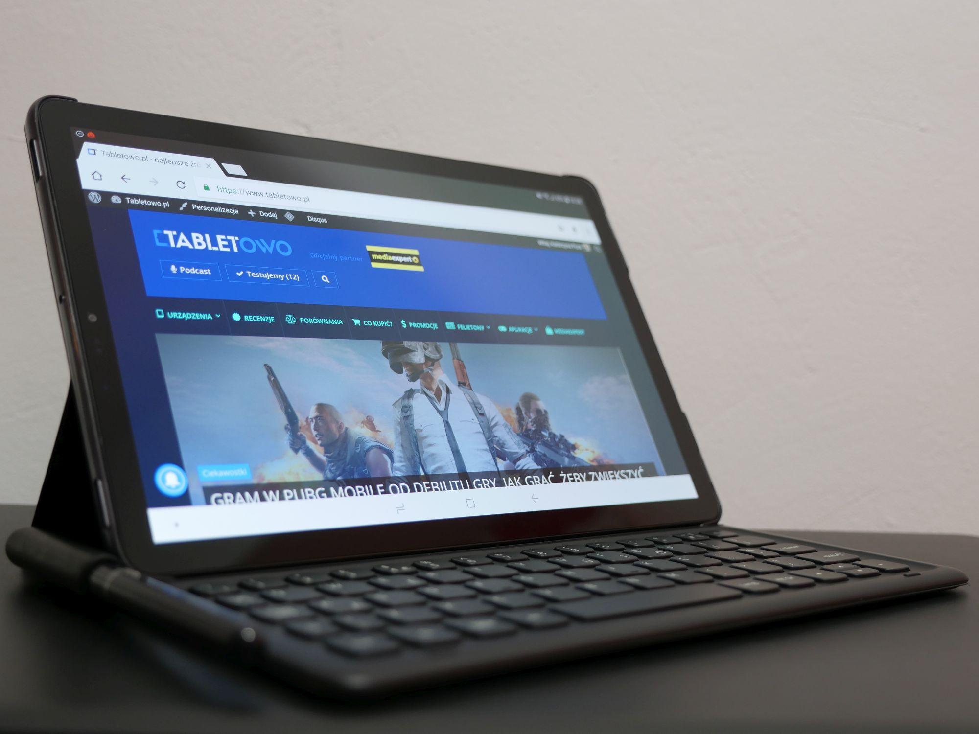Recenzja Samsunga Galaxy Tab S4 LTE - tabletu z najwyższej półki z Androidem 22