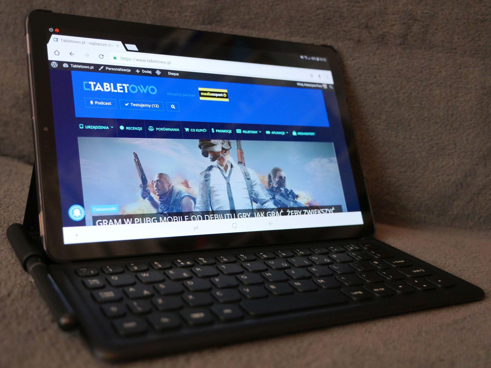Uwierzę, jak zobaczę: Samsung Galaxy Tab S6 podobno z czytnikiem w ekranie