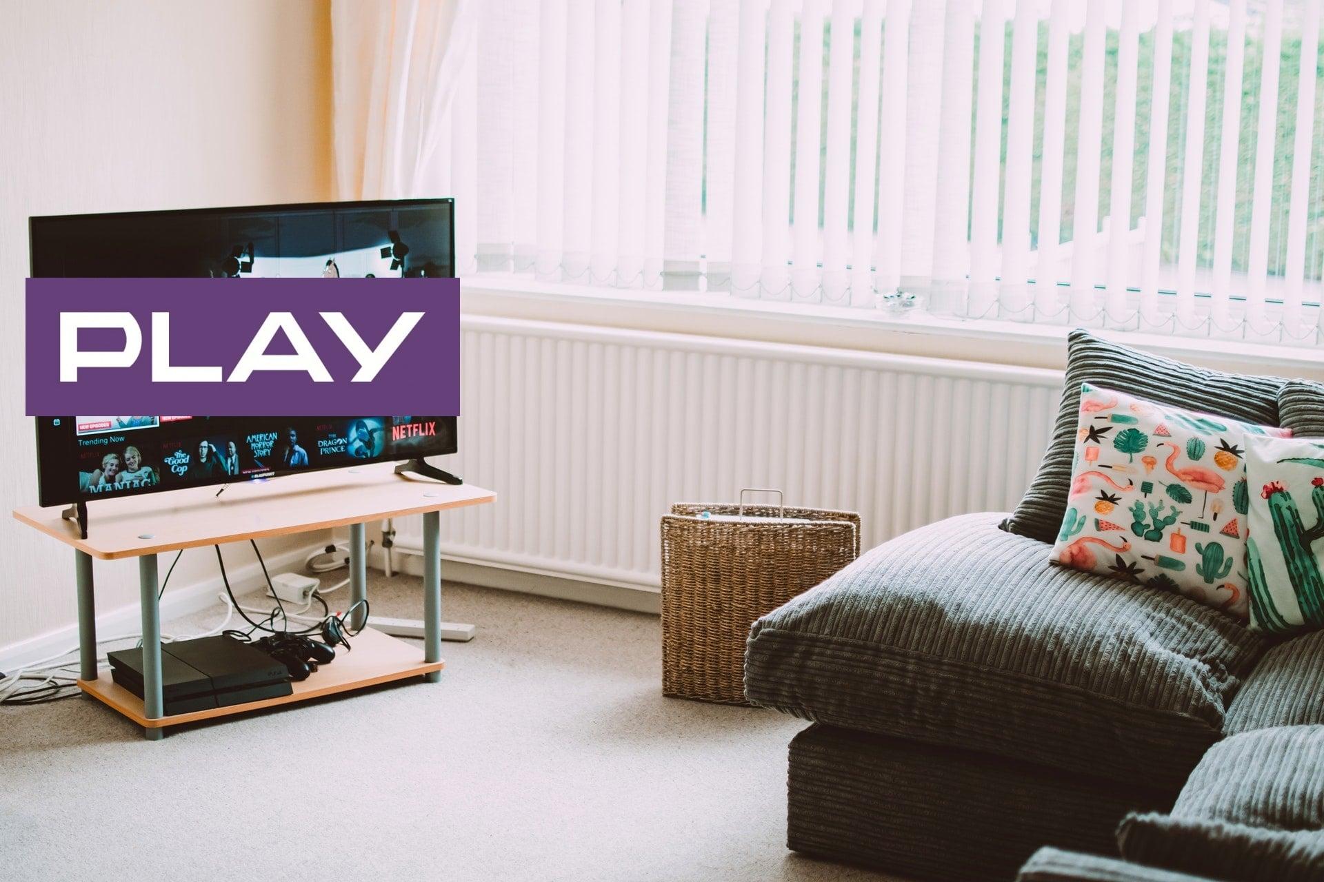 Play logo TV telewizja