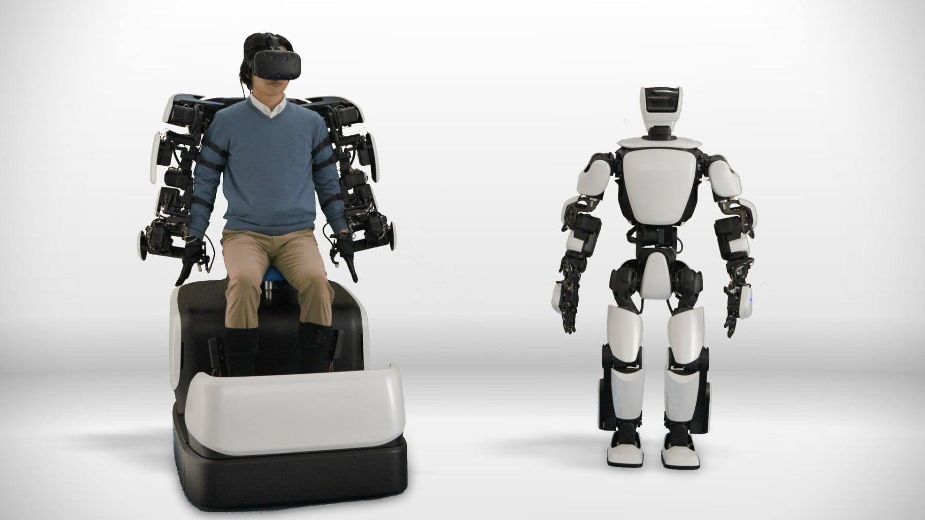 Tabletowo.pl Toyota ma pomysł na 5G. T-HR3 to humanoidalny robot kontrolowany bezprzewodowo na odległość 10 km Ciekawostki Nowości Technologie