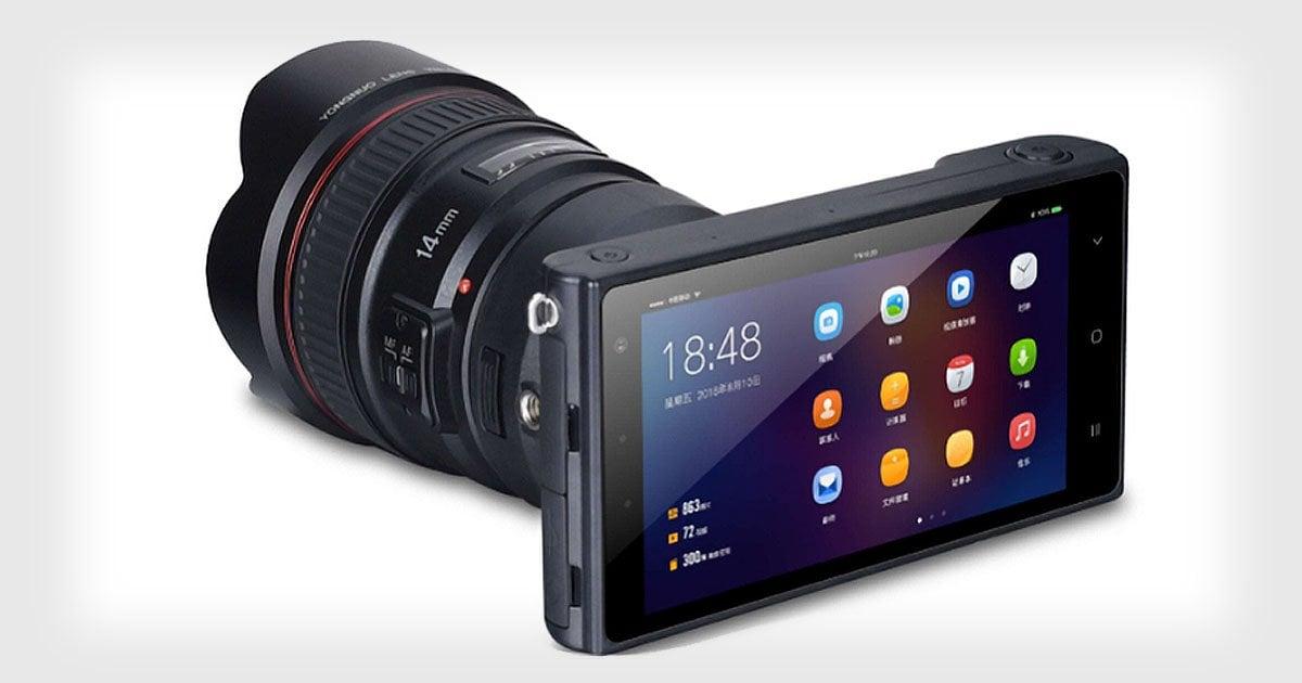 Yongnuo YN450 - kolejny Android z dwoma aparatami... no, coś w tym rodzaju :) 17