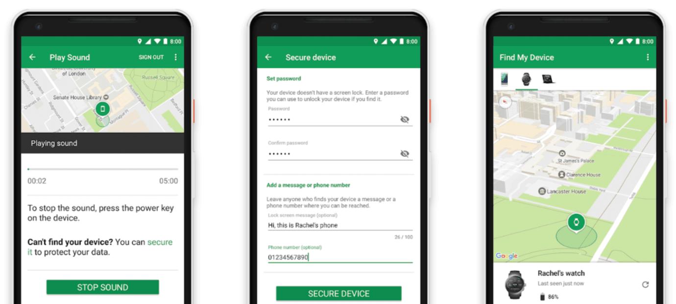 Aplikacja Google Znajdź moje urządzenie - od teraz pomaga zlokalizować zagubiony sprzęt na lotniskach i w centrach handlowych 18
