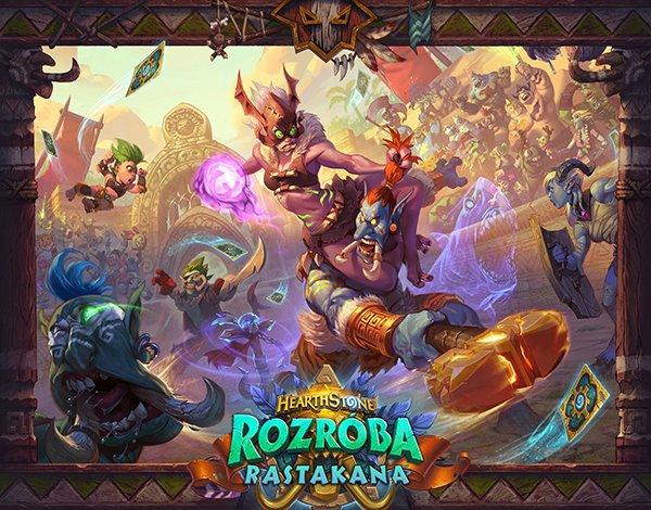 Tabletowo.pl Rozróba Rastakana - dziś debiutuje najnowsze rozszerzenie Hearthstone'a, do odebrania m.in. darmowe pakiety kart Gaming Gry