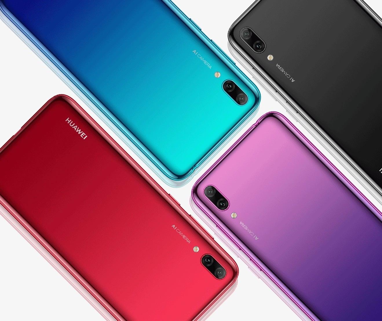 Budżetowy Huawei Enjoy 9 oficjalnie. Do Europy trafi jako Huawei Y7 Prime 2019 18