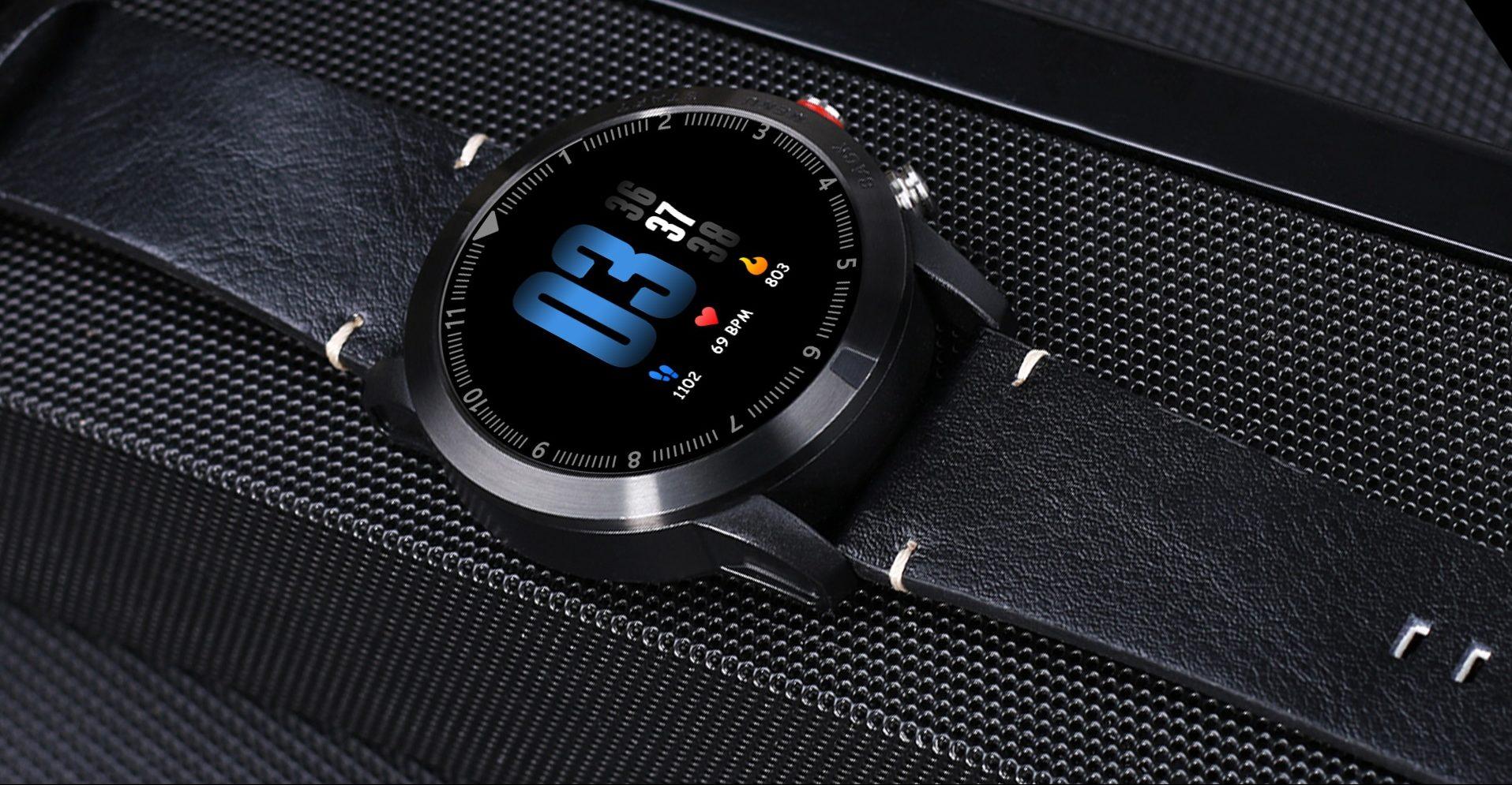 Tabletowo.pl Nie jest to zbyt znany producent, ale jego nowy smartwatch zapowiada się bardzo ciekawie Chińskie Nowości Wearable