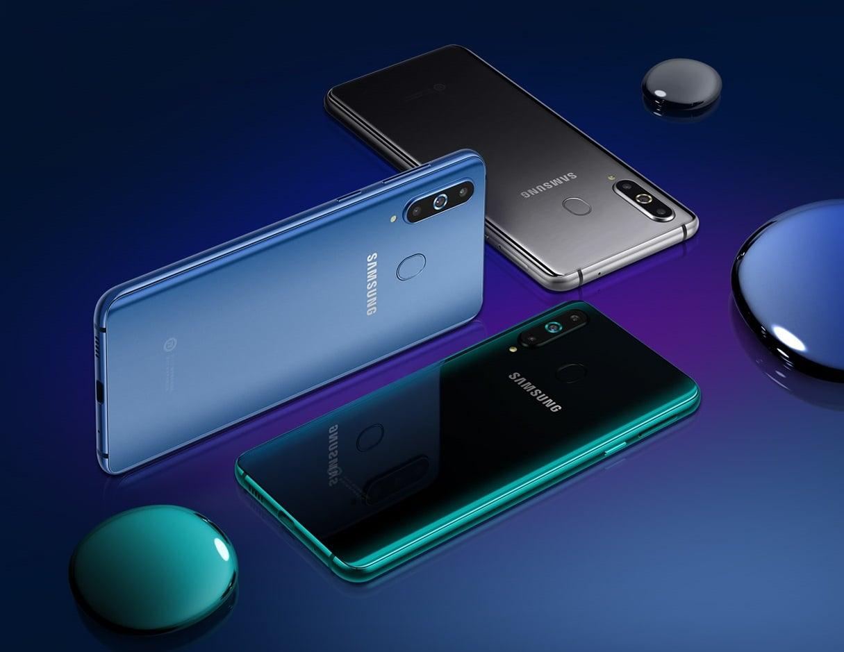 """Tabletowo.pl Zadebiutował Samsung Galaxy A8s - pierwszy smartfon z wyświetlaczem Infinity-O i kamerką """"w ekranie"""" Android Nowości Samsung Smartfony"""