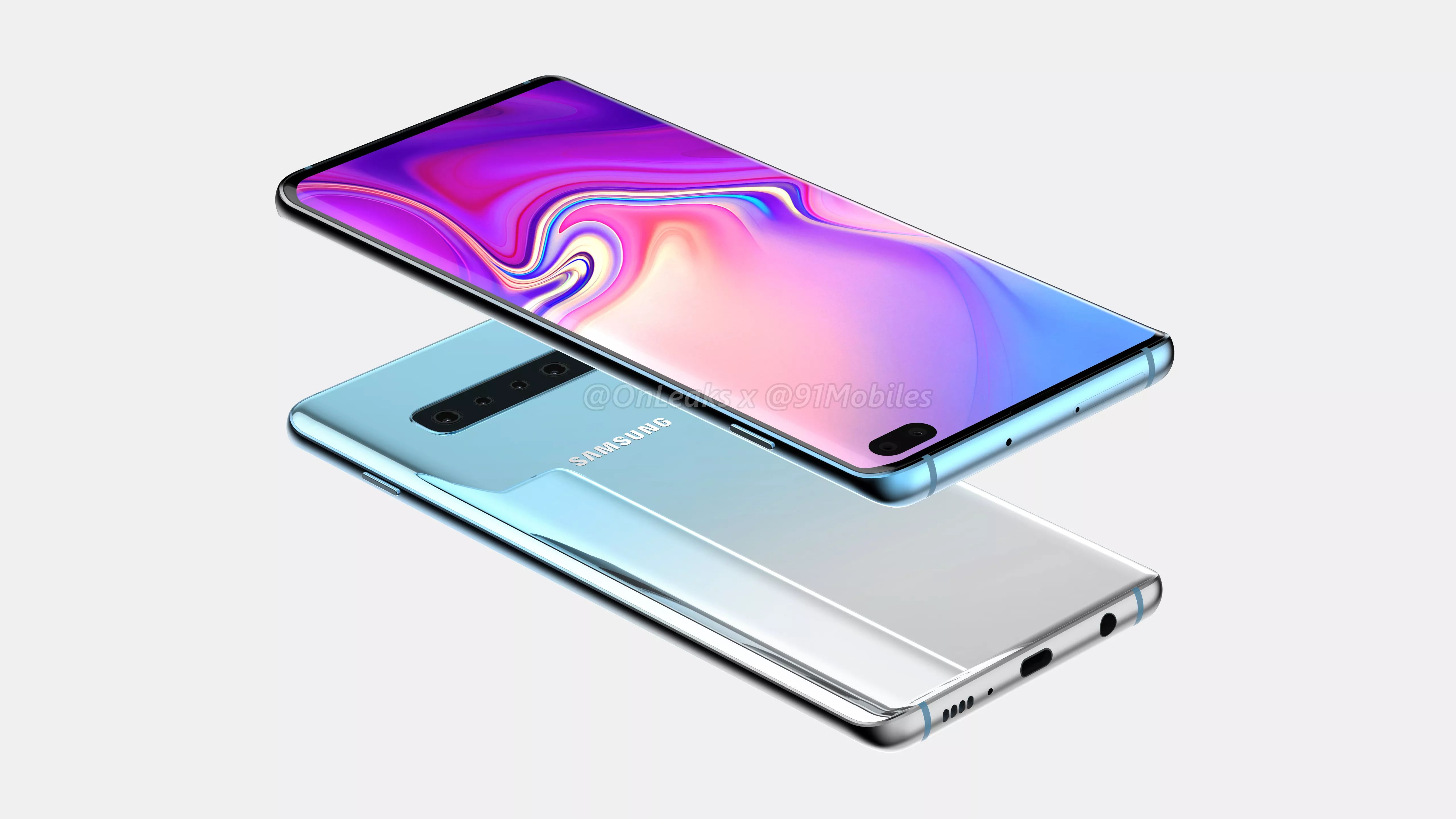 """Tabletowo.pl Zmiana planów: Samsung Galaxy S10+ będzie miał jednak aż sześć aparatów, a nie """"tylko"""" pięć Android Plotki / Przecieki Samsung Smartfony"""