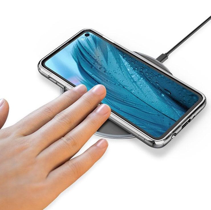 Tabletowo.pl Tak może wyglądać Samsung Galaxy S10 z płaskim ekranem. Całkiem ładnie się prezentuje Android Plotki / Przecieki Samsung Smartfony