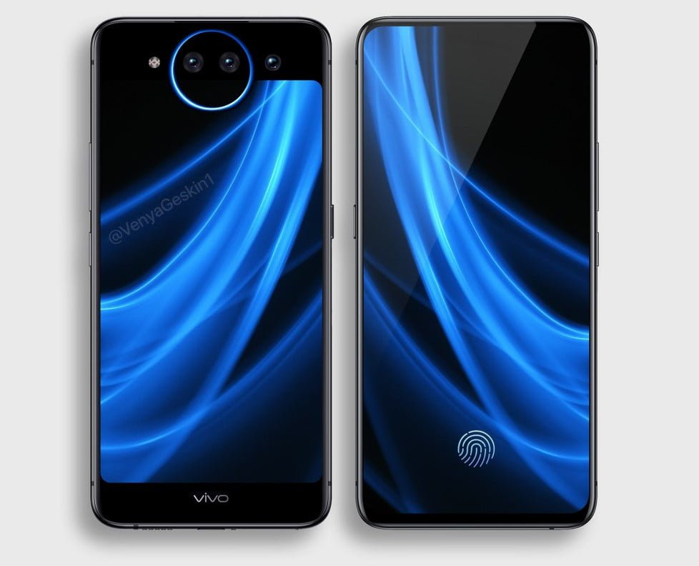 Vivo NEX 2 będzie miał dwa ekrany. Materiały udostępnione przez producenta oczarowują 22