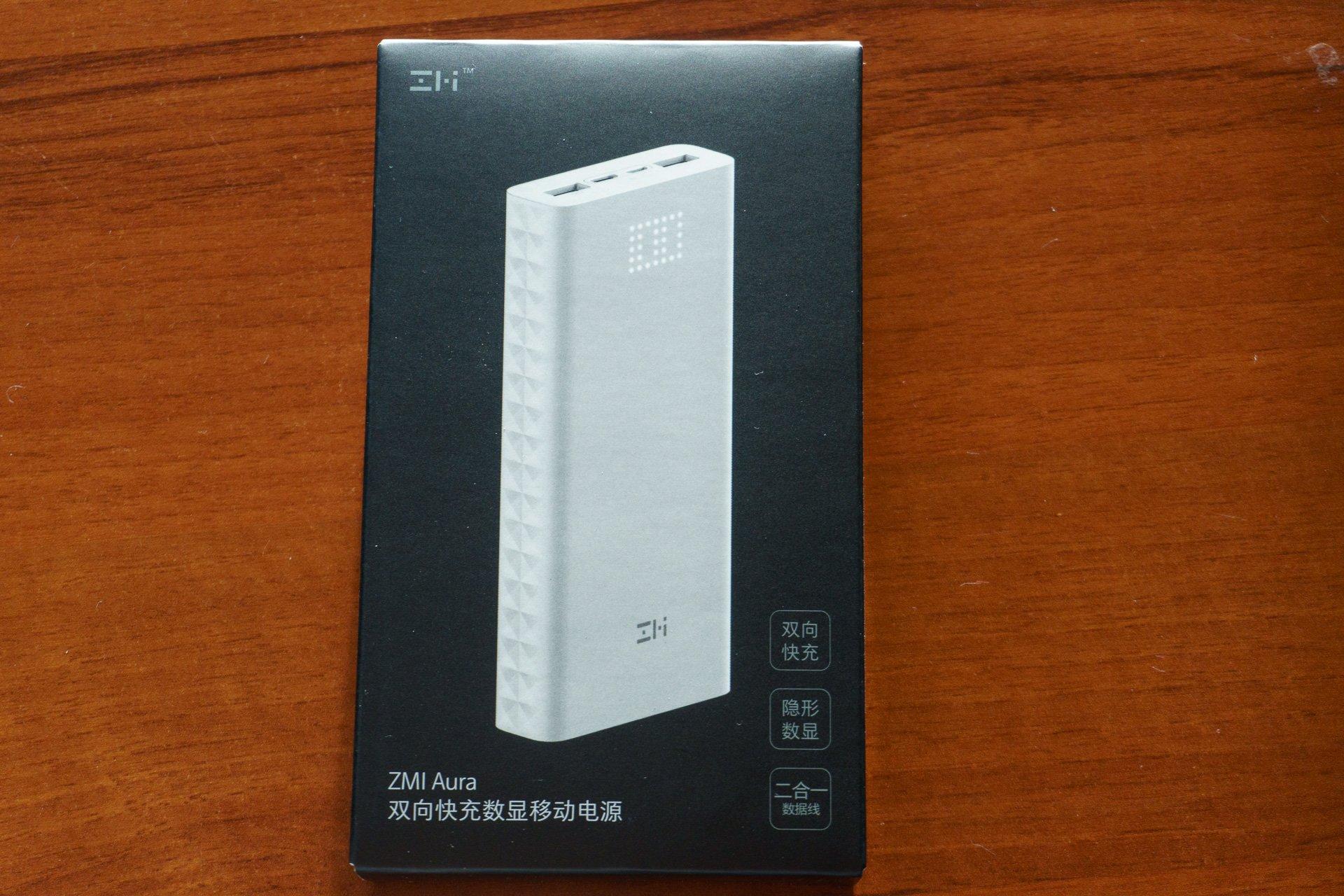 Tabletowo.pl Xiaomi ZMI Aura 20000 mAh Power Bank QC 3.0 – czy i tym razem #Xiaomilepsze? (recenzja) Akcesoria Recenzje Xiaomi