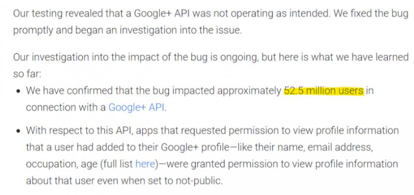 """Tabletowo.pl Podobno martwi nie zdradzają tajemnic, a jednak Google+ się udało. Dane 50 mln użytkowników serwisu """"na wolności"""" Bezpieczeństwo Google Social Media"""