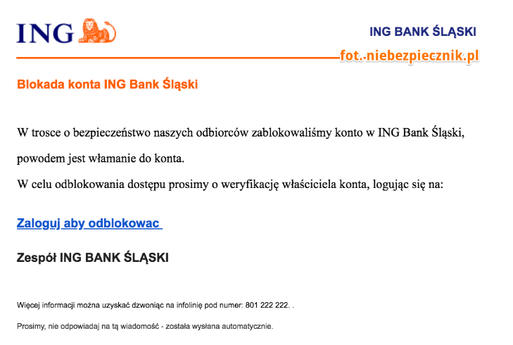 Tabletowo.pl Sprytna pułapka zastawiona na klientów ING Ciekawostki