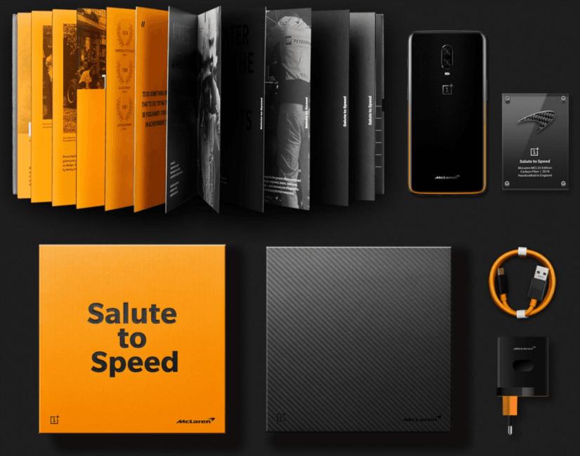 OnePlus 6T McLaren Edition jest dość drogi. Ale ma 10 GB RAM-u, a i urody odmówić mu nie można 19