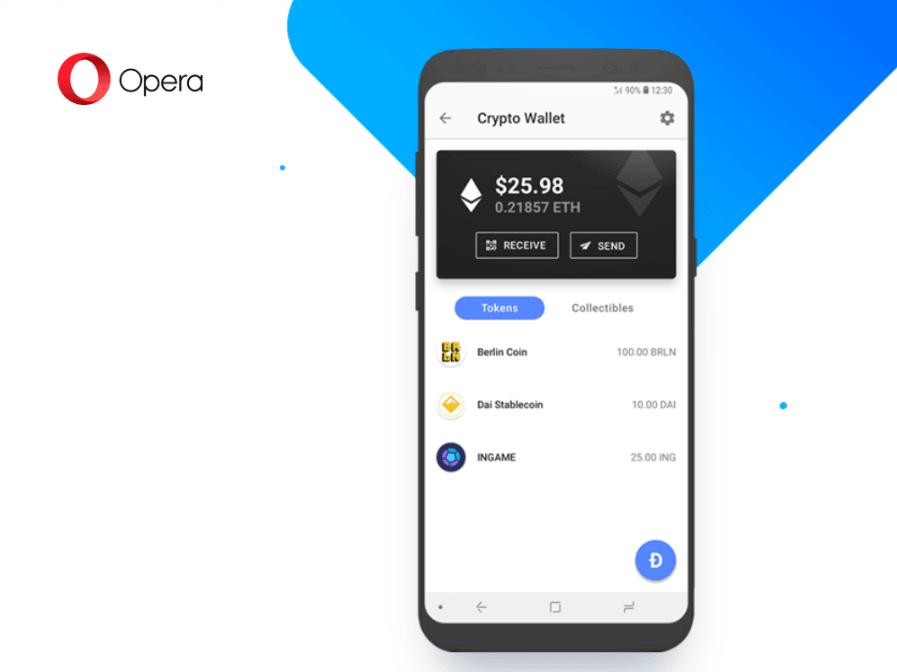 Tabletowo.pl Opera na Androida oferuje wbudowany portfel kryptowalut. Przydatny dodatek czy przesada? Aktualizacje Aplikacje