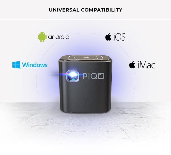 Tabletowo.pl PIQO to mały i przenośny projektor z dużym potencjałem Akcesoria Android iOS Windows
