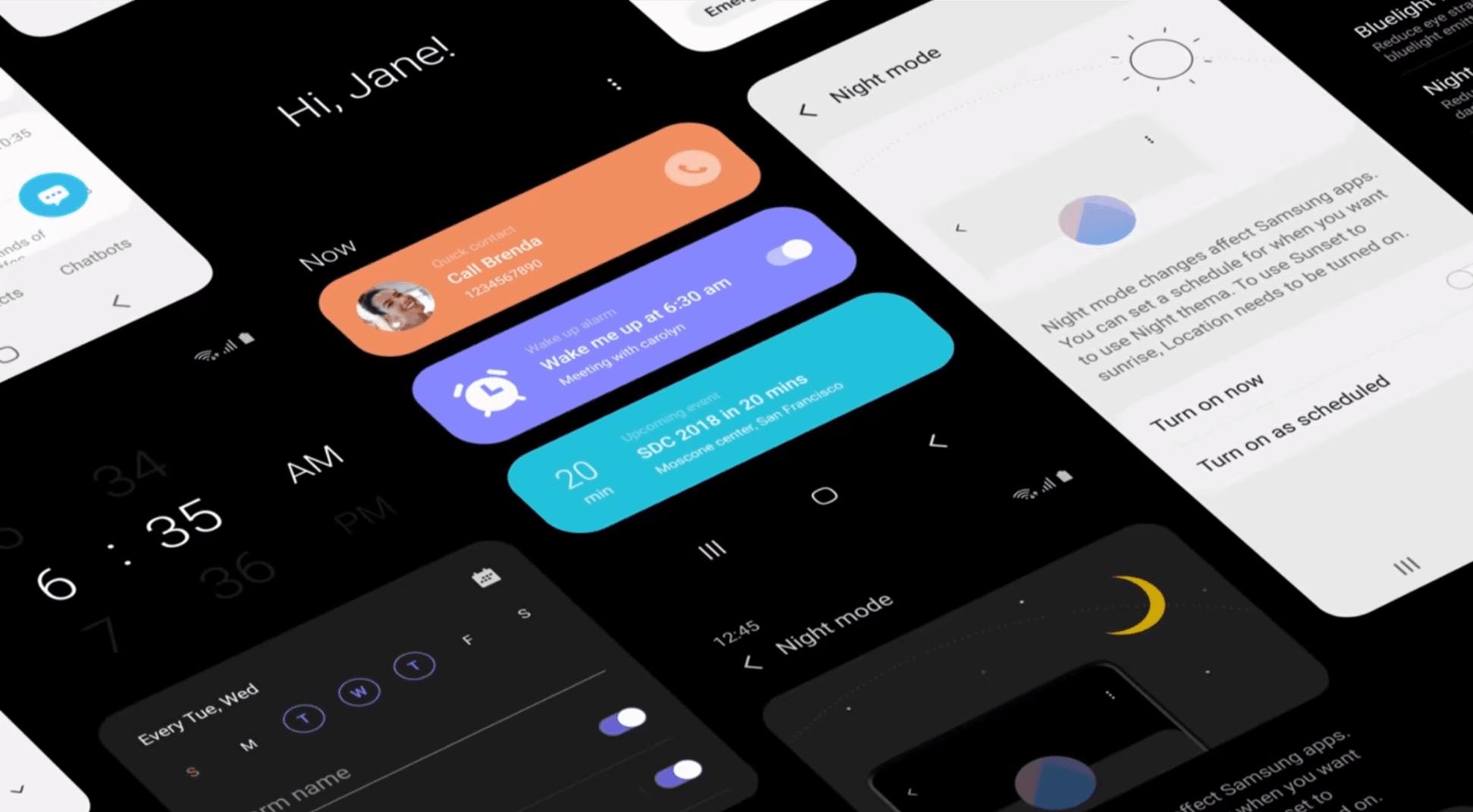 Samsung promuje nakładkę systemową One UI. Aktualizacja systemu do Androida Pie na Galaxy S9/S9+ już blisko 20