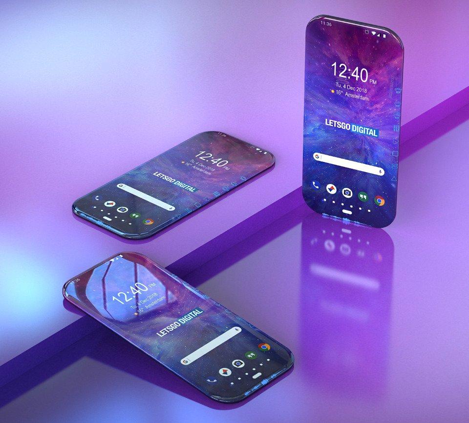 """Tabletowo.pl """"Ten smartfon cały jest ekranem"""" w patencie Samsunga nabiera zupełnie nowego znaczenia Koncepcje Samsung"""