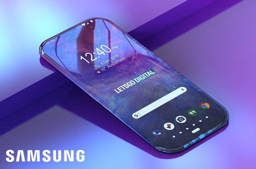 """""""Ten smartfon cały jest ekranem"""" w patencie Samsunga nabiera zupełnie nowego znaczenia 21"""