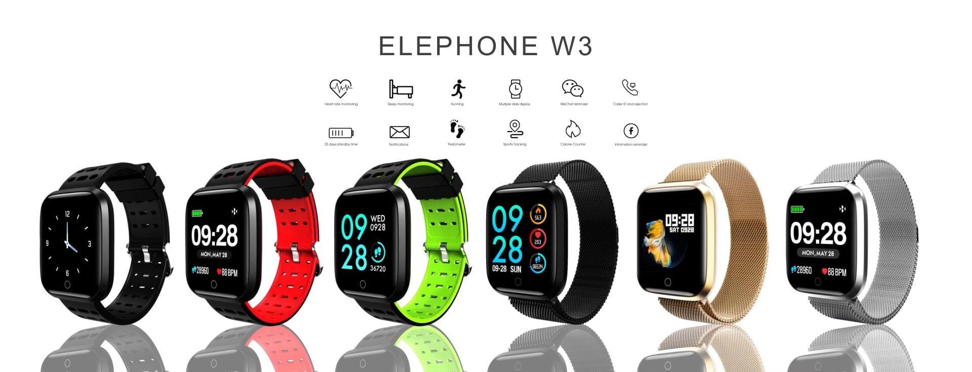 Elephone zbiera na Indiegogo pieniądze na nowy smartwatch, ale producent trochę przesadził z ceną 24