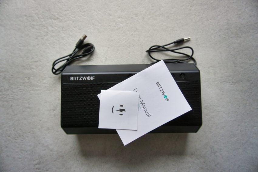 BlitzWolf BW-AS2 - mroczny głośnik dla żądnych hałasu (recenzja) 22