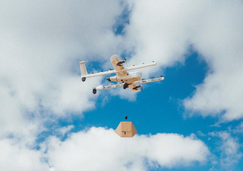 Tabletowo.pl Drony Alphabetu niosące paczki z zamówieniami, zaczną latać nad głowami Finów wiosną 2019 roku Ciekawostki Google Technologie Zapowiedzi