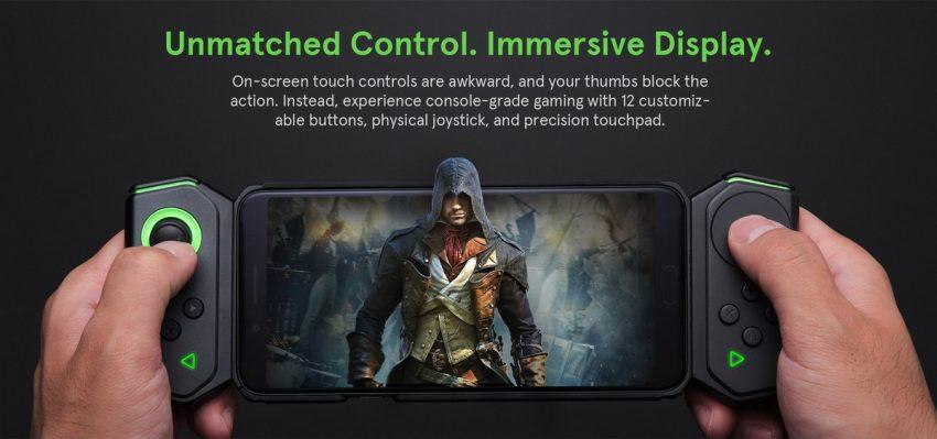 Dzięki Gamepad 2.0, Xiaomi Black Shark wygląda trochę jak Nintendo Switch 24