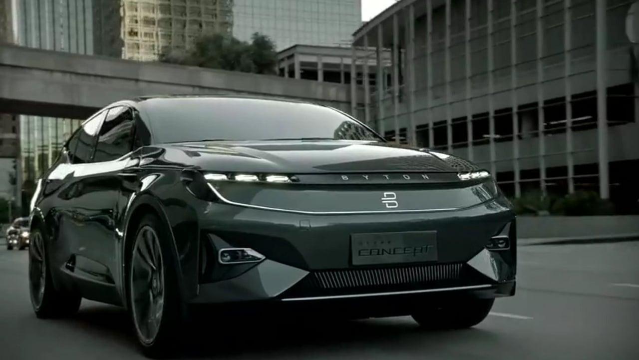 Tabletowo.pl Byton prezentuje model M-Byte - silnik elektryczny, autonomia i mnóstwo ekranów Moto