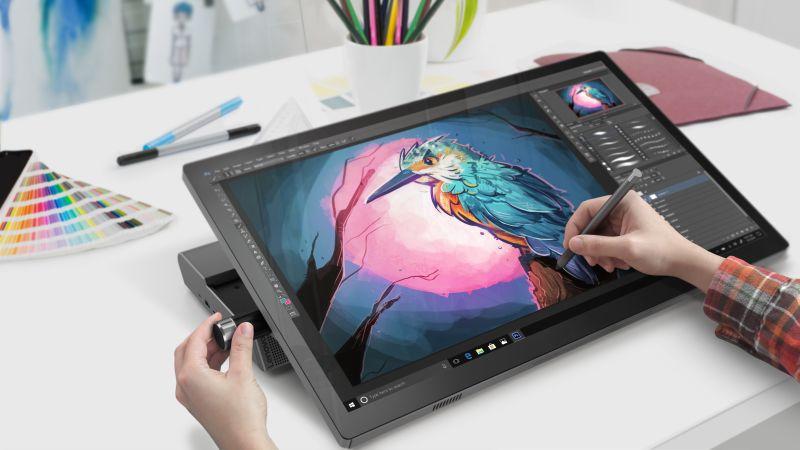 Ładne laptopy i konkurent dla Surface Studio - takie sprzęty z serii Yoga pojawiły się u Lenovo na CES 2019 31