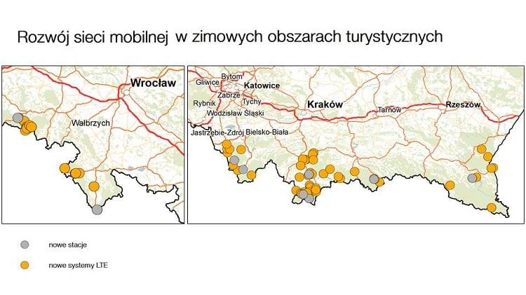Tabletowo.pl Orange zbroi się na ferie i zwiększa pojemność sieci w górskich miejscowościach, aby klienci mieli lepszy zasięg GSM