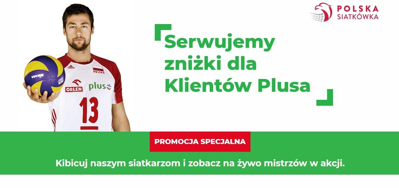 Jesteś klientem Plusa? Możesz kupić bilety na mecze polskich siatkarzy i siatkarek o 15% taniej! 31