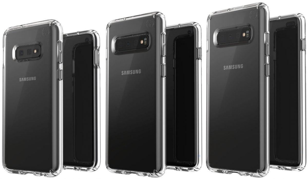 Tabletowo.pl To chyba pierwszy raz, gdy trzy Samsungi Galaxy S10 pozują obok siebie na jednej grafice Android Ciekawostki Plotki / Przecieki Samsung Smartfony