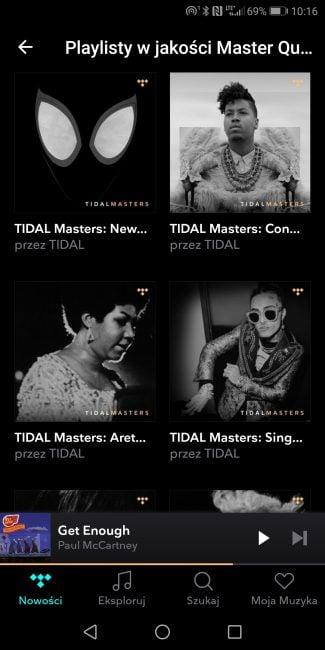 Tabletowo.pl Na to czekałem! Tidal oferuje najwyższą jakość muzyki MQA także na urządzeniach mobilnych Aplikacje Kultura Nowości