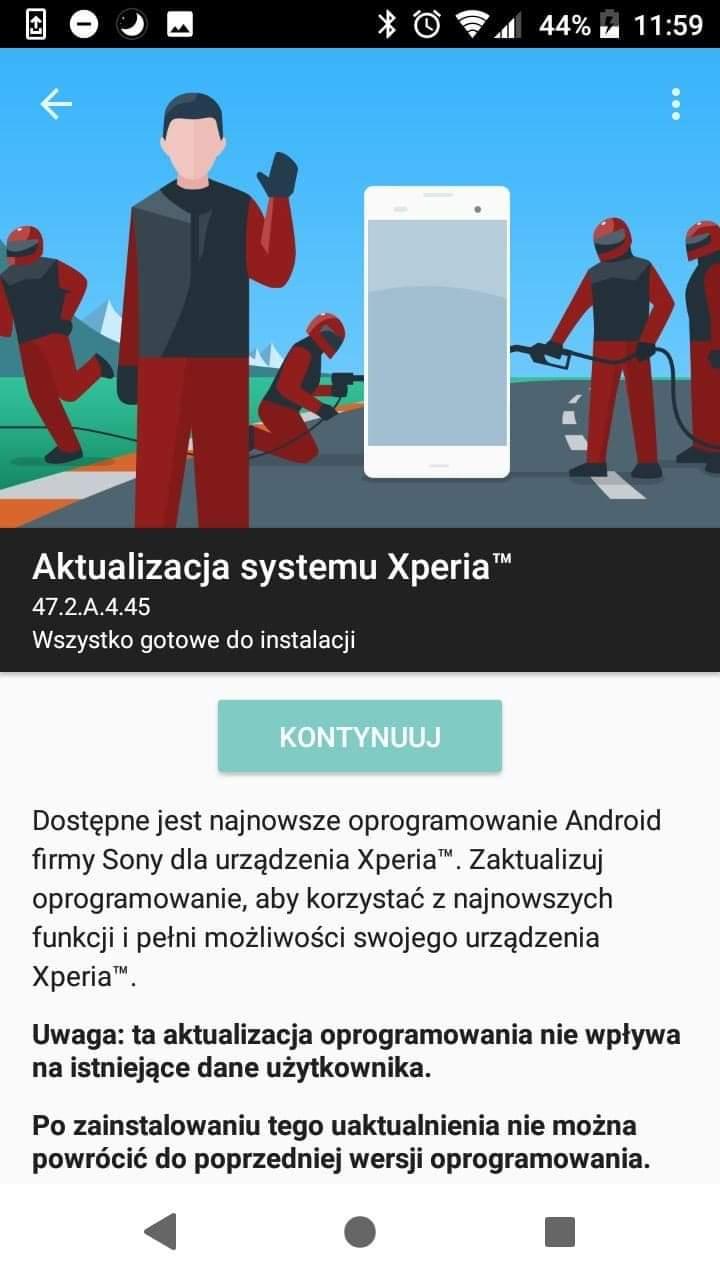 Nokia 8 Sirocco i Sony Xperia XZ1 Compact dostają aktualizację do Androida 9.0 Pie 20