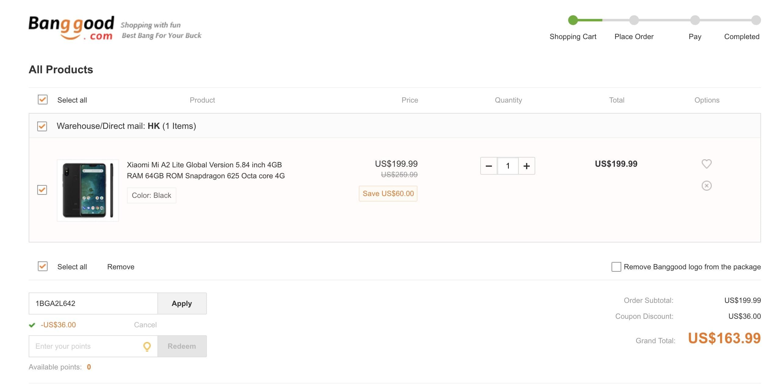 Tabletowo.pl Promocja: Xiaomi Mi A2 Lite w świetnej promocji za ok. 619 złotych Android Chińskie Promocje Smartfony Xiaomi