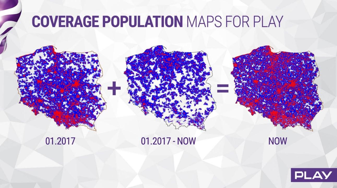 Tabletowo.pl Play ma już ponad 7000 stacji bazowych, a w ciągu trzech najbliższych lat uruchomi kolejne 2500 GSM Raporty/Statystyki