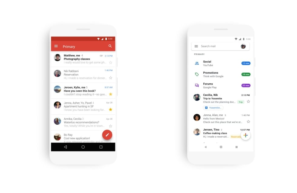 W Gmailu szykują się duże zmiany - nie tylko wizualne 19