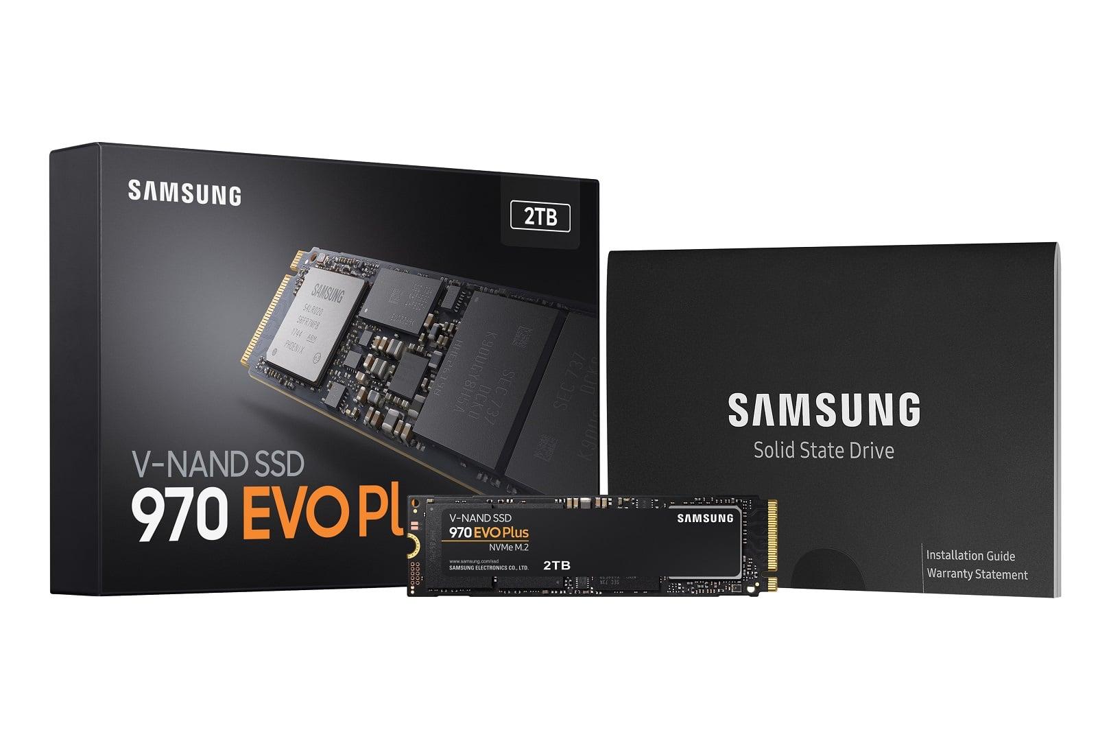 Samsung zaprezentował nowy, ultraszybki dysk SSD 970 EVO Plus 22
