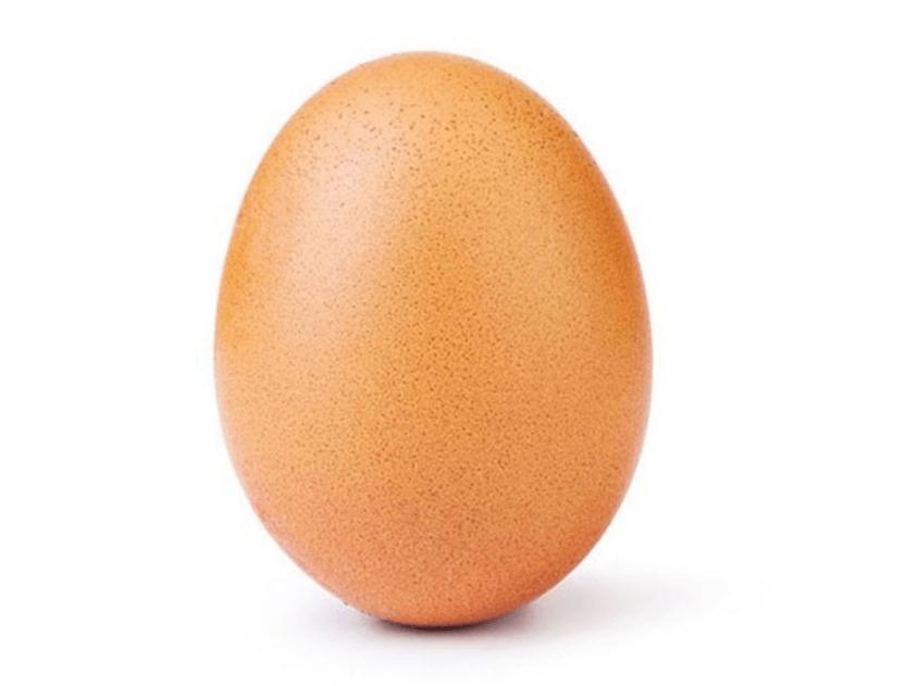 Tabletowo.pl Kwintesencja internetu: najpopularniejszym zdjęciem na Instagramie jest fotografia kurzego jaja Ciekawostki Social Media