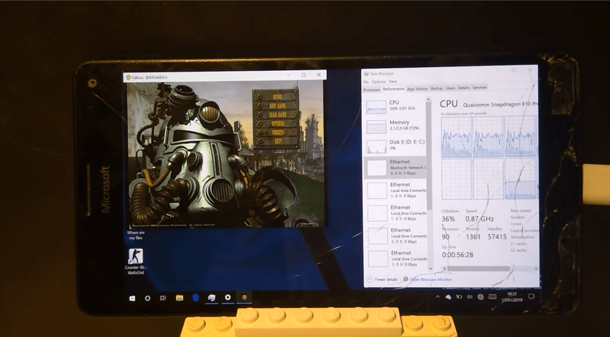 Tabletowo.pl Odpalił Fallouta na Lumii 950 XL. Ciekawe, co na to Bethesda Ciekawostki Gry Microsoft