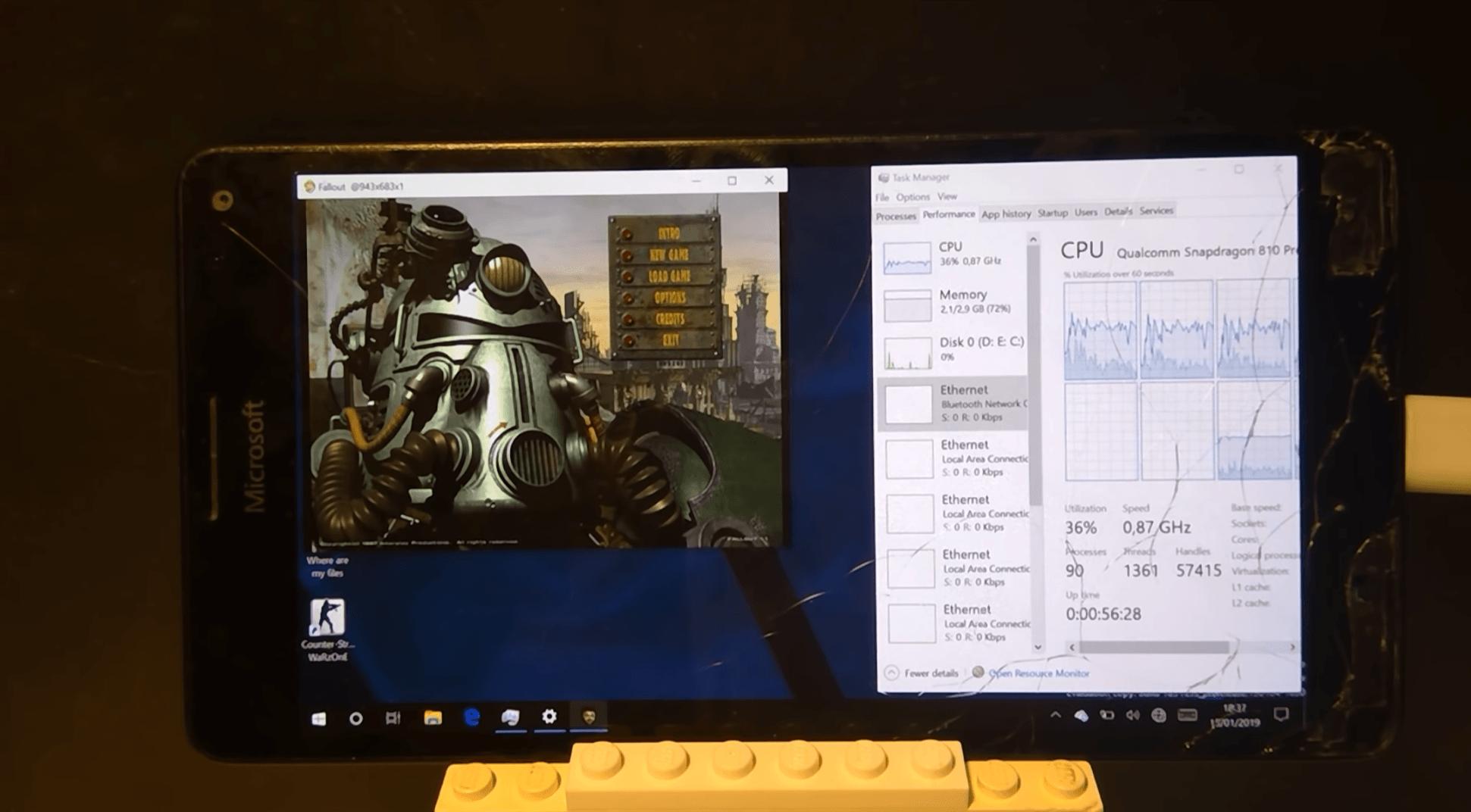 Odpalił Fallouta na Lumii 950 XL. Ciekawe, co na to Bethesda 21