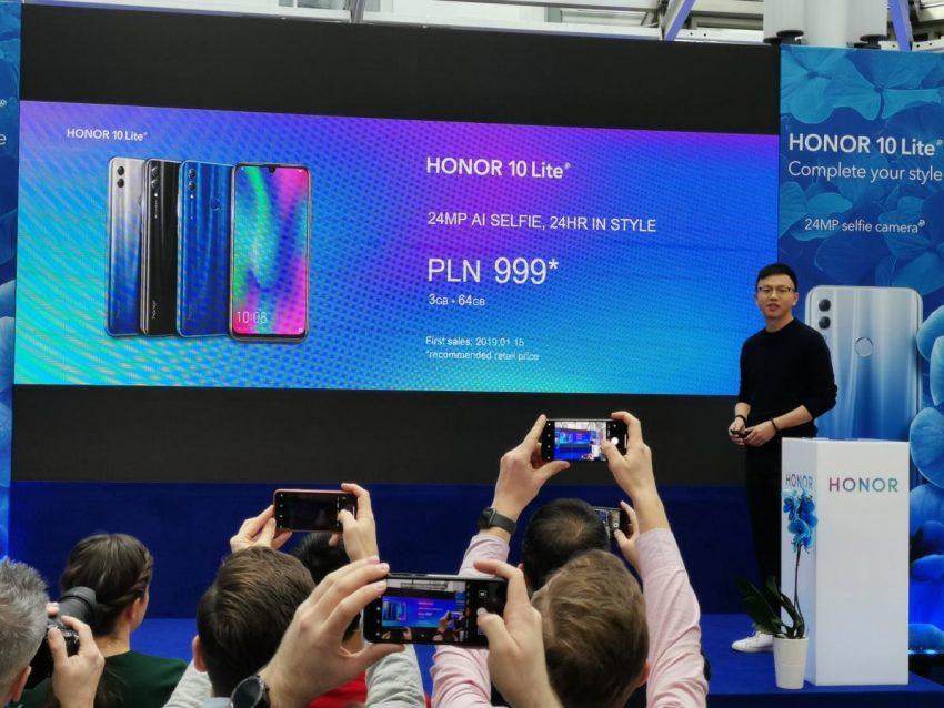 Tabletowo.pl Honor 10 Lite dostępny w Polsce za 999 zł. Silny typ na hit sprzedażowy do 1000 zł Huawei Nowości Smartfony