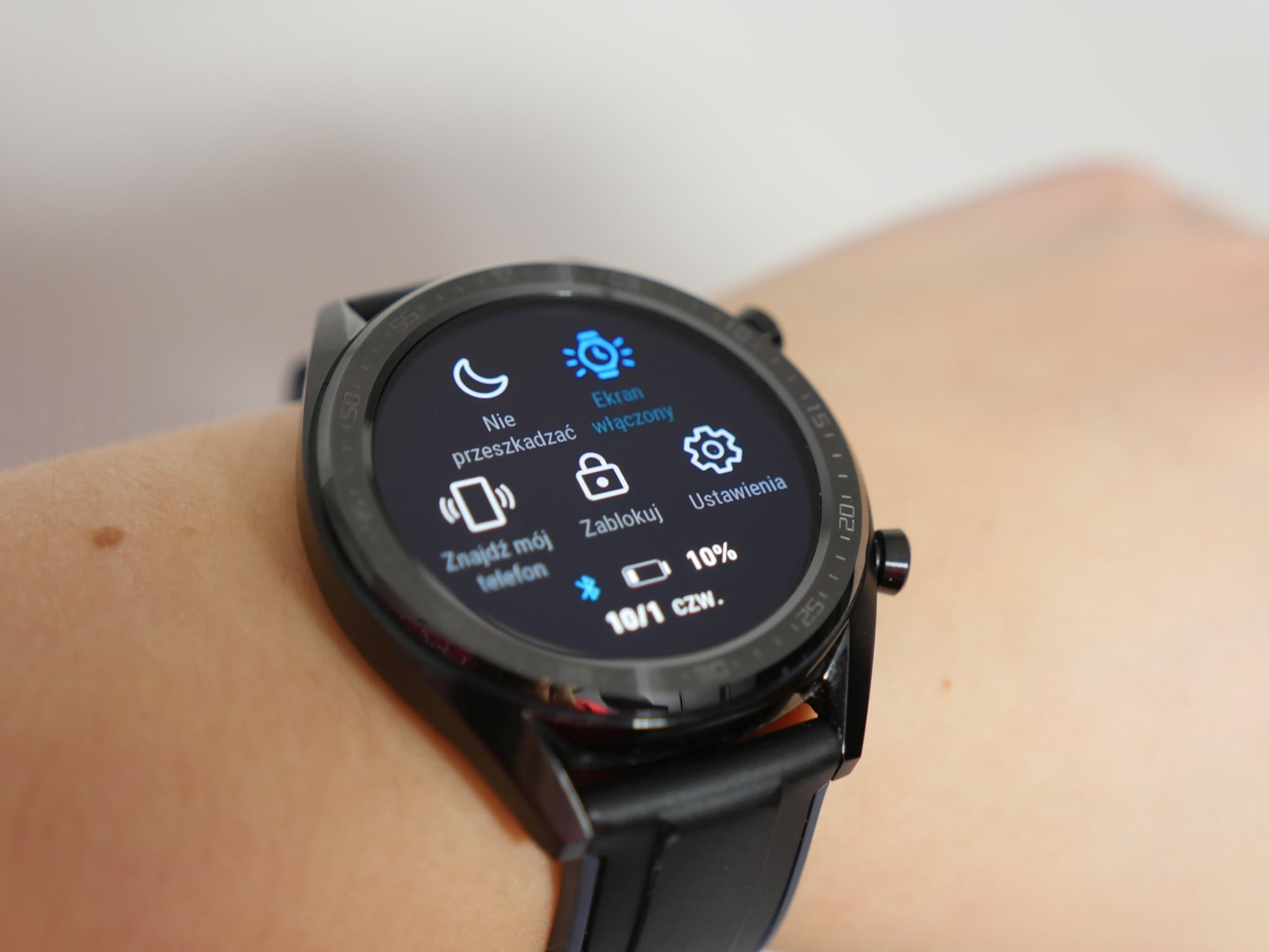 jak ustawic aby zegarek cały czas się wyświetlał samsung smartwatch