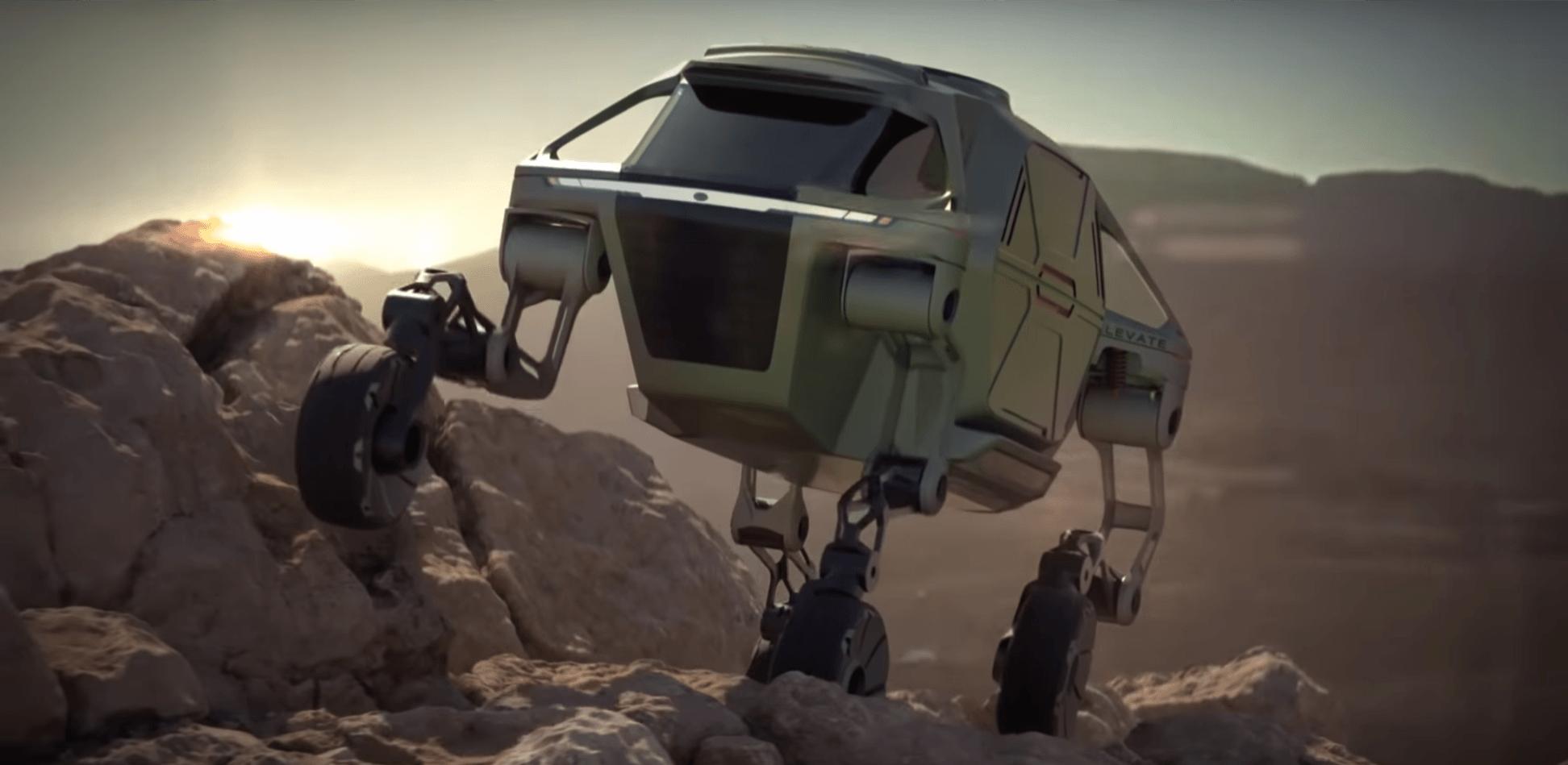 Transformers naszych czasów - samochód elektryczny, który chodzi. Prototyp Hyundai zadziwia 17