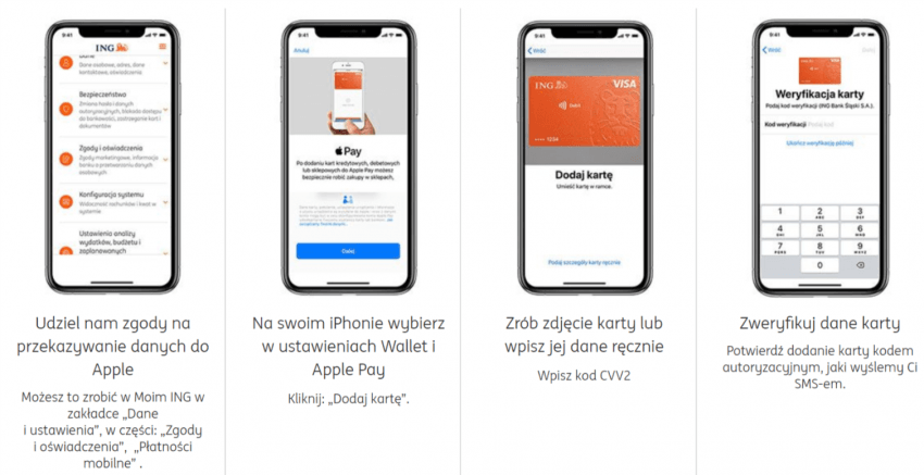 Apple Pay trafiło do ING Banku Śląskiego. Można już dodawać karty płatnicze