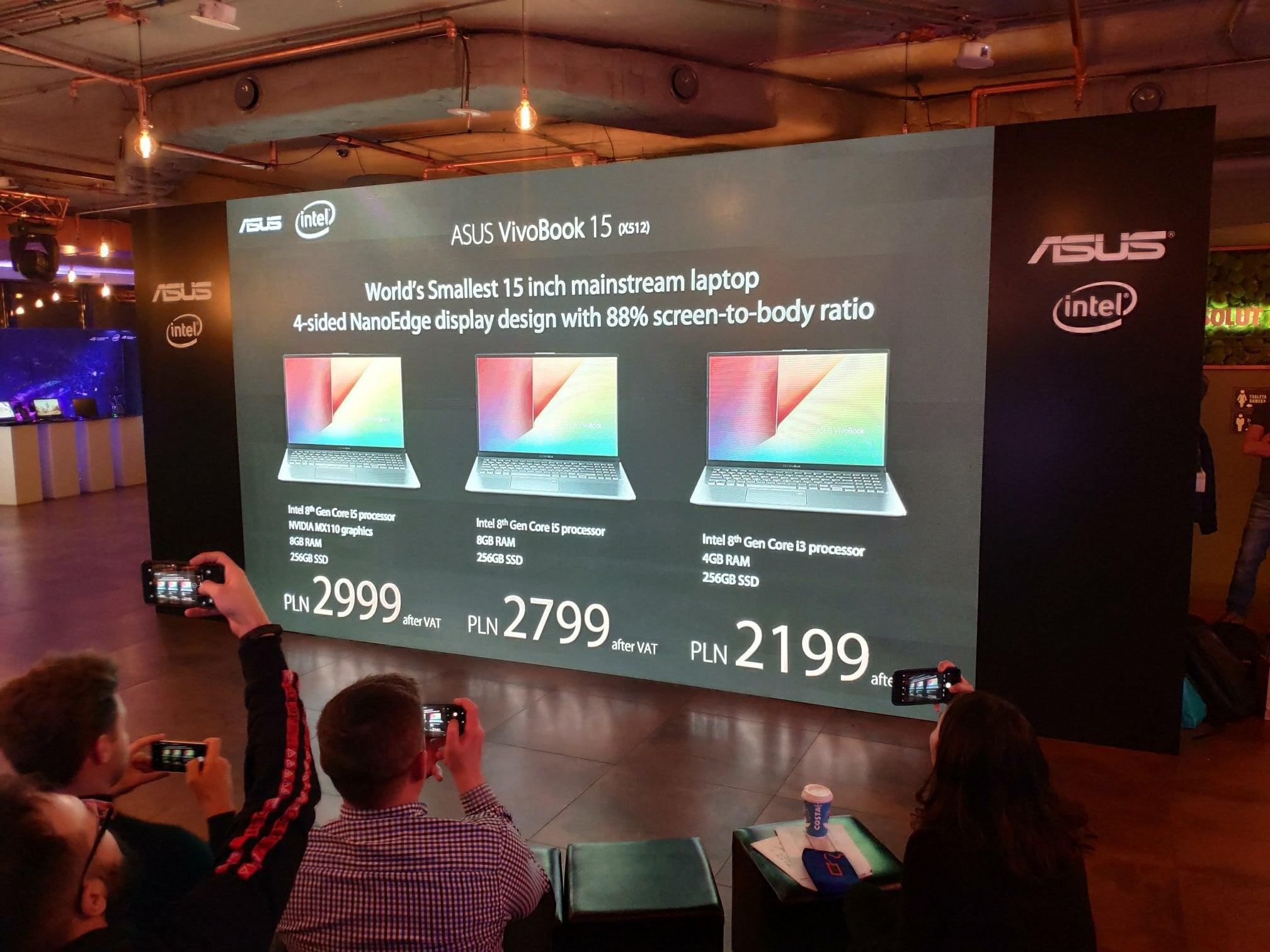 Tabletowo.pl Asus wprowadza do Polski mnóstwo nowych laptopów. Ceny zaczynają się już od 1699 złotych Asus Laptopy Nowości Windows
