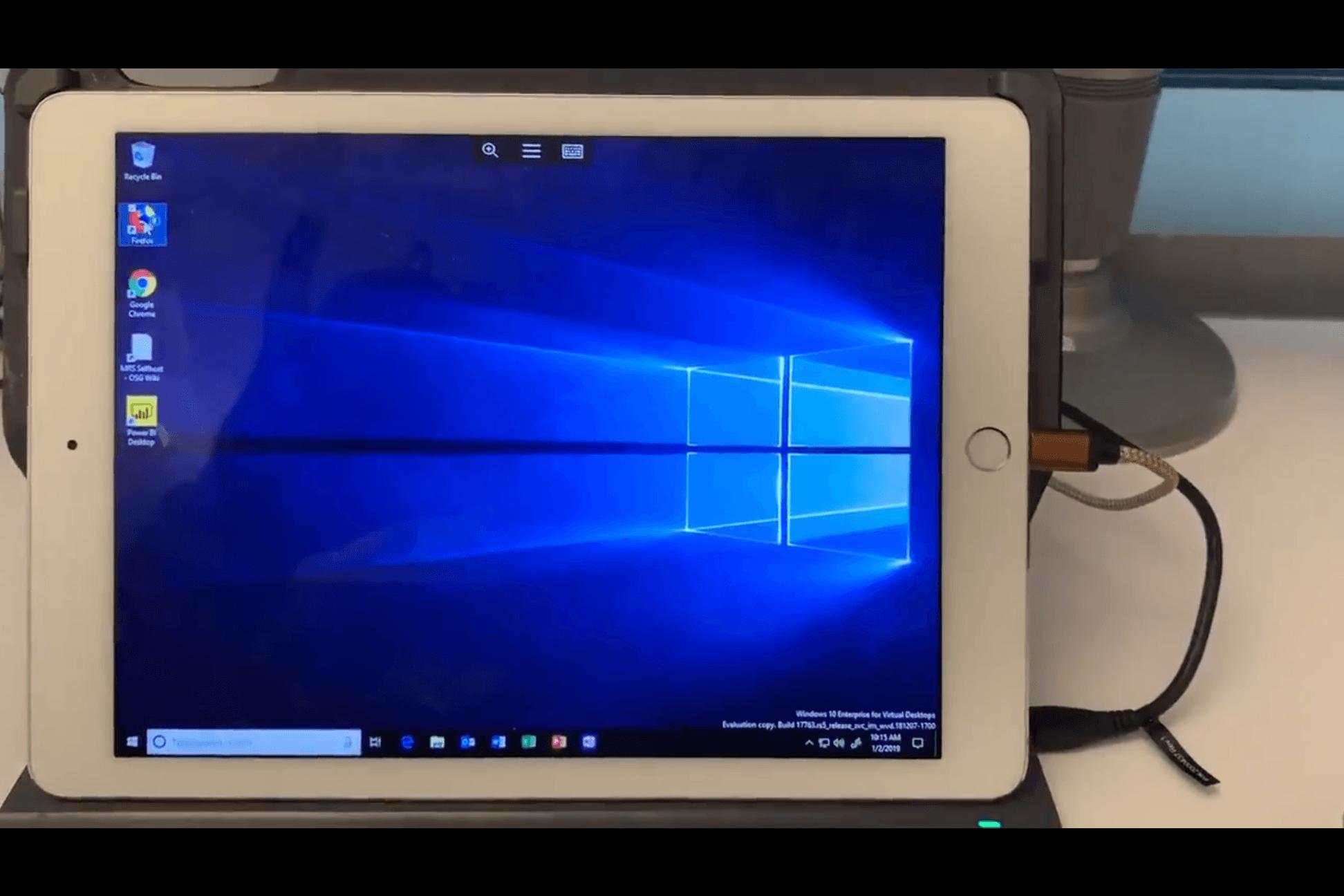 Tabletowo.pl Jak z iPada zrobić komputer, czyli Windows Virtual Desktop na iOS obsługuje już myszy Bluetooth Aktualizacje Aplikacje iOS Windows