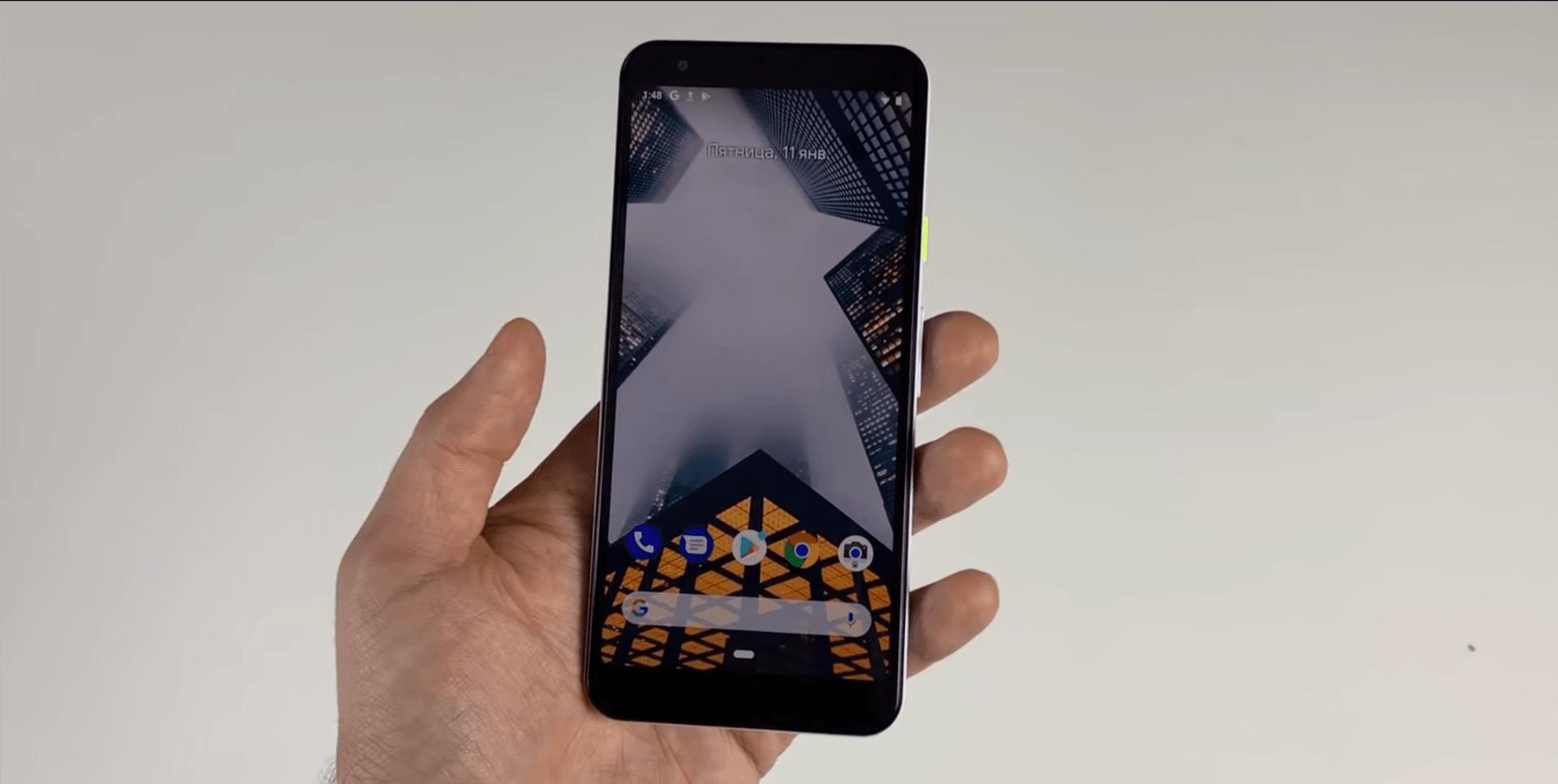 Tabletowo.pl Google ma poważny problem z pilnowaniem swoich tajemnic: Pixel 3 Lite w całej okazałości na filmie Google Plotki / Przecieki Smartfony