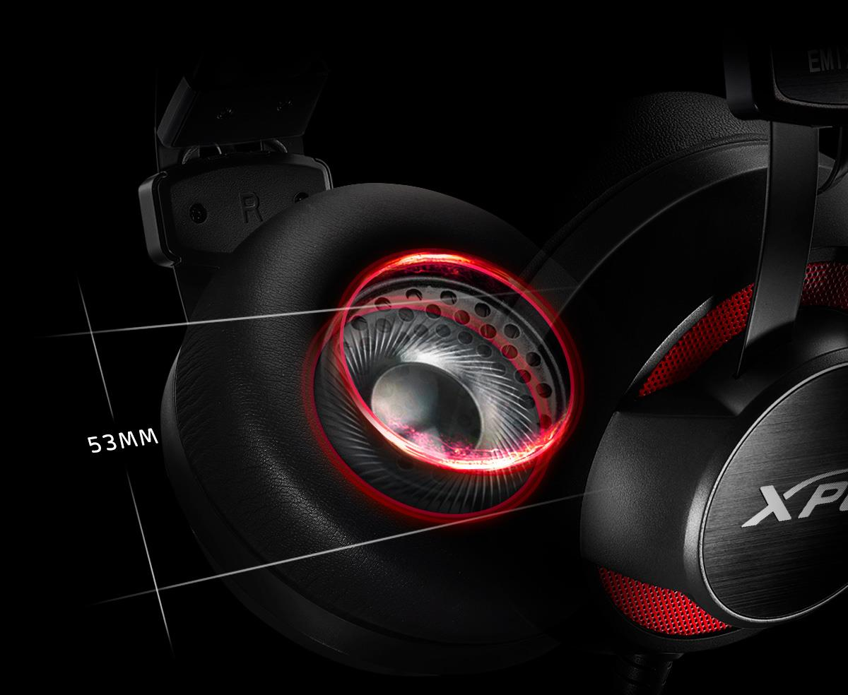 ADATA zaprezentowała nowe słuchawki nauszne dla graczy marki XPG obsługujące wirtualny dźwięk przestrzenny 7.1 16